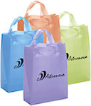 Lily Frosted Bright Shopping Bags